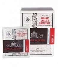 Organic English Breakfast Box of 20 Wrapped Sachets